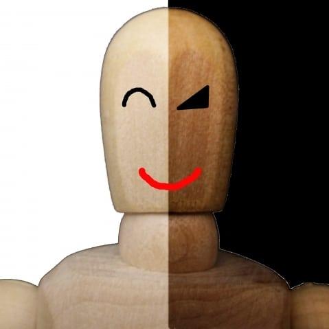 悪徳な人のイメージ写真