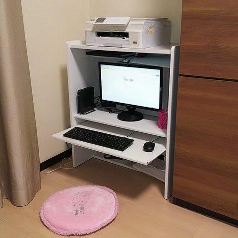 自宅の仕事場のイメージ写真
